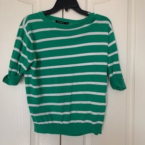 Atmosphere striped green blouse ❤️